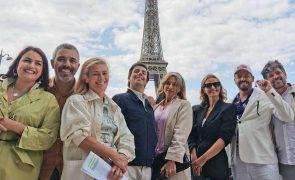 Cristina Ferreira e atores da TVI com noite louca em Paris [vídeo]