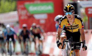 Vuelta: Primoz Roglic vence 11.ª etapa e aproxima-se de Odd Christian Eiking