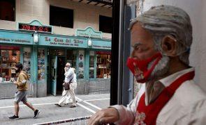 Covid-19: Espanha com 10.781 novos casos e 163 mortes