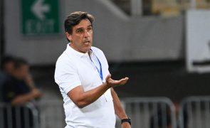 LCE: Treinador Daniel Ramos diz que