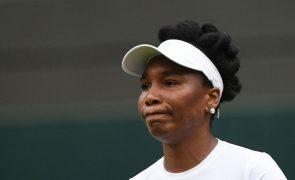 US Open: Venus Williams abdica do último 'major' da época devido a lesão