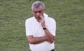 Mundial2022: Fernando Santos divulga convocados para dupla jornada de qualificação