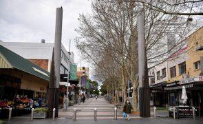 Covid-19: Austrália ultrapassa pela primeira vez as 1.000 infeções diárias