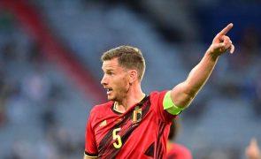 Vertonghen chamado para jogos da Bélgica de qualificação para o Mundial2022