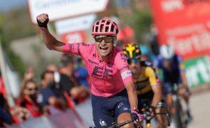 Vuelta: Cort impõe-se ao 'sprint' na 12.ª etapa, Eiking segura liderança
