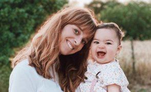 Sara Prata apanha valente susto com queda da bebé