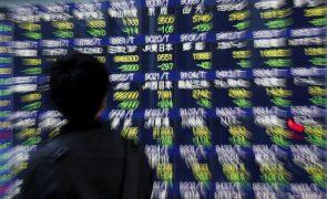 Bolsa de Tóquio abre a perder 0,82%