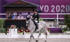 Paralímpicos: Cavaleira Ana Mota Veiga foi 14.ª na prova individual de dressage