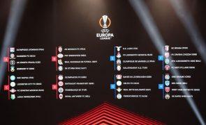 LE: Olympiacos, de Pedro Martins, e Fenerbahçe, de Vítor Pereira entre os duelos 'lusos'
