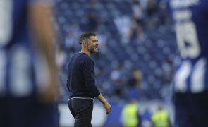 Conceição acredita que FC Porto vai reagir com Arouca ao empate na Madeira