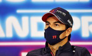 Mexicano Sérgio Pérez renovou com escuderia Red Bull por mais um ano