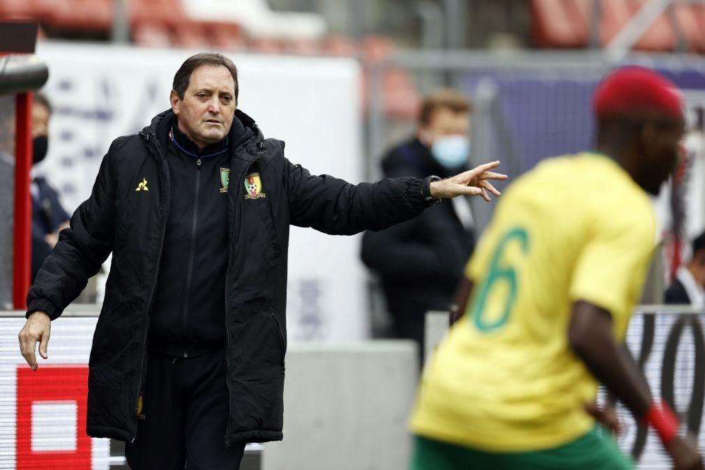 António Conceição continua no comando da seleção dos Camarões até 2023