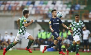 Belenenses SAD e Moreirense empatam e continuam sem vencer na I Liga
