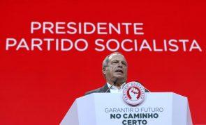 PS/Congresso: Carlos César reeleito presidente do partido com mais de 90% dos votos