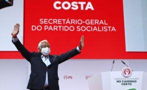 PS/Congresso: Costa pede mobilização para as autárquicas e ânimo para a recuperação do país