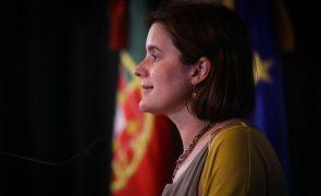PS/Congresso: Mariana Vieira da Silva ataca liberais, elogia Costa e destaca Marta Temido