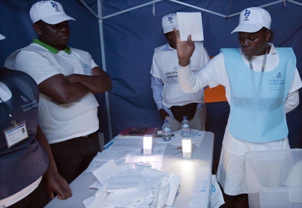 CNE preocupada com retirada de indicação de locais de voto nas eleições angolanas