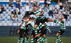 Sporting vence Benfica conquista Supertaça de futebol feminino pela segunda vez