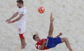 Rússia e Japão vão disputar final de mundial de futebol de praia