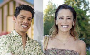 O vídeo comovente que Vasco Palmeirim enviou a Rita Ferro Rodrigues