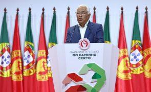 PS/Congresso: Costa anuncia alargamento e aumento dos apoios à natalidade e para crianças pobres