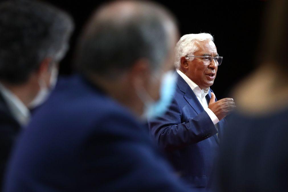 PS/Congresso: Costa destaca papel das autarquias nos fundos europeus e pede maioria em cada região