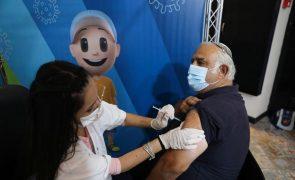 Covid-19: Israel abre terceira dose da vacina a toda a população