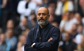 Nuno Espírito Santo soma terceira vitória consecutiva ao leme do Tottenham
