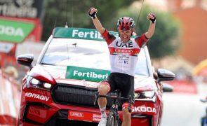 Vuelta: Rafal Majka vence 15.ª etapa, Odd Christian Eiking segue líder da geral