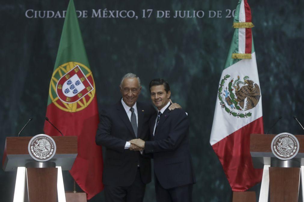PR/México: Peña Nieto aponta Marcelo como um dos promotores da recuperação económica