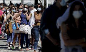 Covid-19: Cerca de 29 mil pessoas vacinadas hoje, a maioria jovens entre 12 e 17 anos
