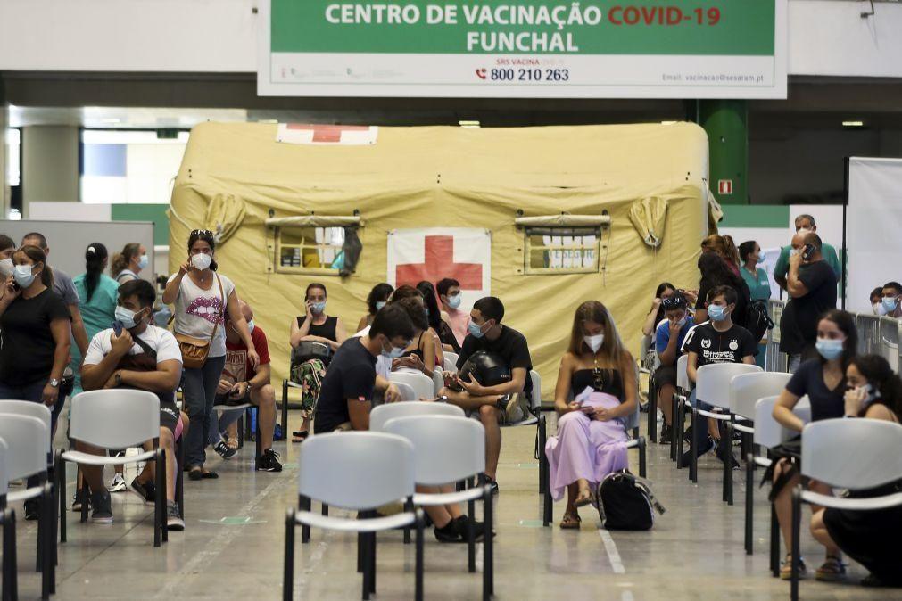 Covid-19: Madeira já está a preparar administração da terceira dose da vacina
