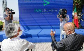 Primeiro mês do IVAucher registou