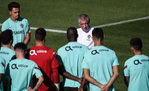 Mundial2022: Portugal cumpre último treino antes de defrontar República da Irlanda