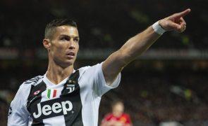 Juventus recebe 15 milhões de euros pela transferência de Cristiano Ronaldo