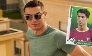 Este cromo antigo de Cristiano Ronaldo vale milhares de euros e pode estar na sua caderneta