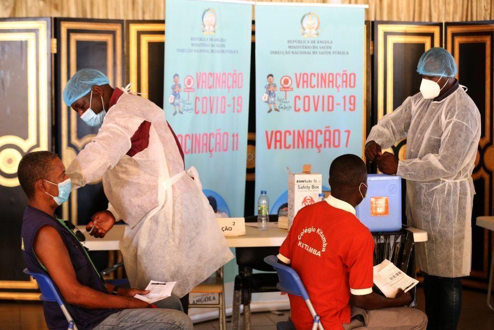 Covid-19: Angola realiza sorteio para incentivar população a vacinar-se