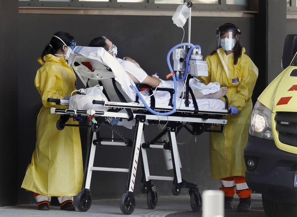 Covid-19: Espanha com mais 7.767 casos e 194 mortes