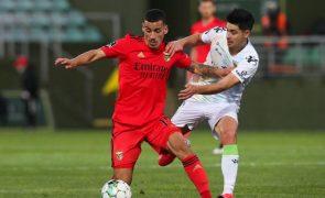 Chiquinho é reforço do Sporting de Braga por empréstimo do Benfica