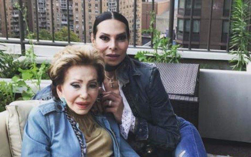 José Castelo Branco e Betty apanhados em vídeo caseiro