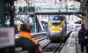 Bruxelas lança plano de ação no outono para comboios de longa distância