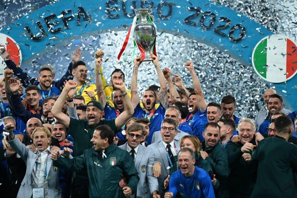 Euro2020: Audiência global nas transmissões em direto de 5,2 mil milhões - UEFA