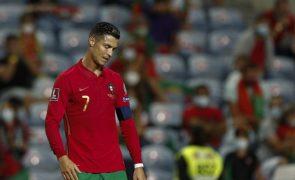 Mundial2022: Cristiano Ronaldo dispensado do estágio da seleção portuguesa