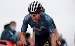 Vuelta: Miguel Ángel López vence etapa, Roglic continua na liderança