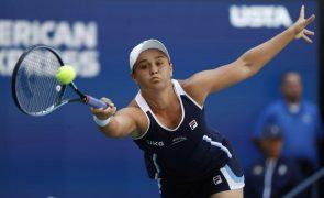 US Open: Ashleigh Barty passa Clara Tauson e apura-se para terceira ronda