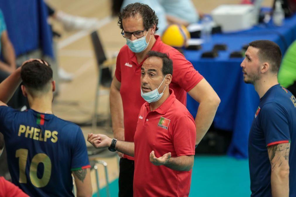 Voleibol/Europeu: Portugal perde por 3-1 com a bicampeã mundial Polónia