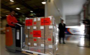 Portugal entrega 400 quilos de medicamentos a hospital pediátrico do Senegal