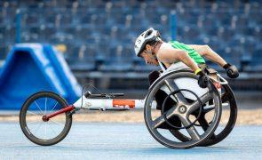 Paralímpicos: João Correia e Hélder Mestre em sexto e sétimo nos 100 metros T51