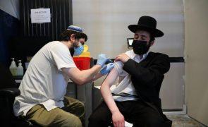 Covid-19: Israel regista recorde diário de casos e acelera toma da terceira dose