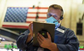 Bolsa de Nova Iorque em baixa após dados sobre mercado de trabalho